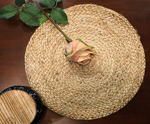 Set of 2 Braided Jute Place Mats