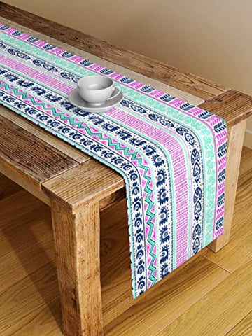 Polycotton Digital Printed Table Runner
