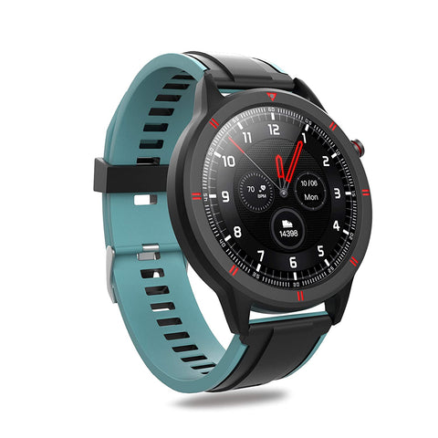 Waterproof Bluetooth Fitness Smartwatch Activity Tracker with Full Touch Screen Display
