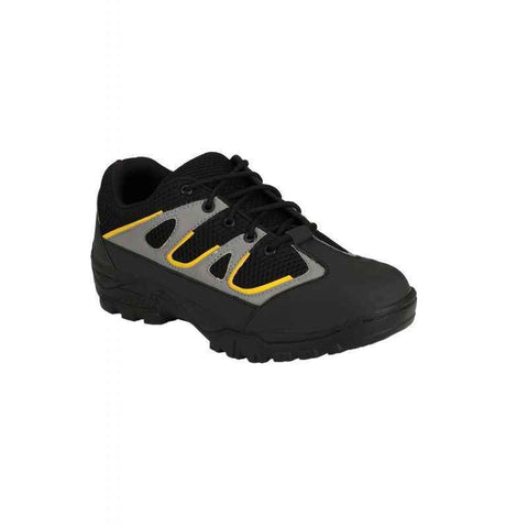 Wave Walk Steel Toe Leather Safety Shoes