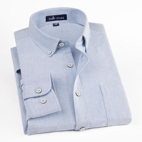 100% Cotton High Quality Non-Iron Full Sleeve Oxford Shirt