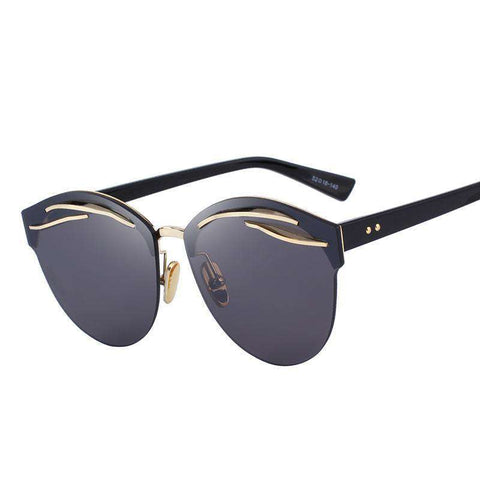 Retro Cat Eye 100% UV Protection Sunglasses