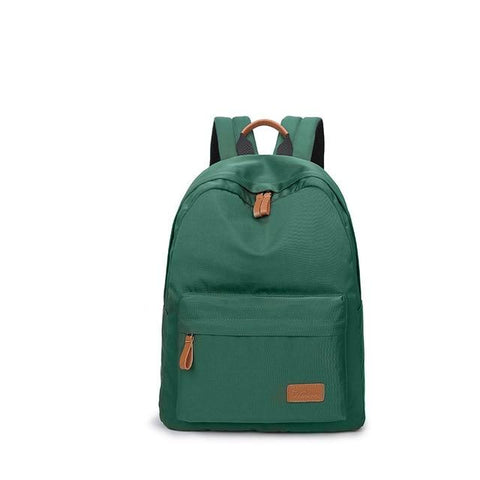 Waterproof Canvas Minimalist Women Backpack