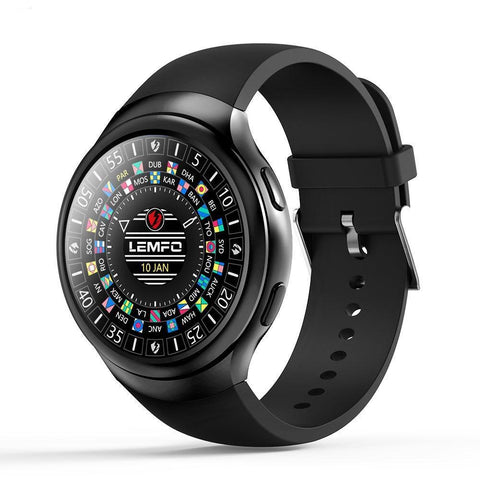 Android 1GB + 16GB Watch Phone Heart Rate Monitor GPS Wifi Bluetooth Wristwatch Smartwach