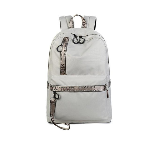 Waterproof Letter Printing Backpack