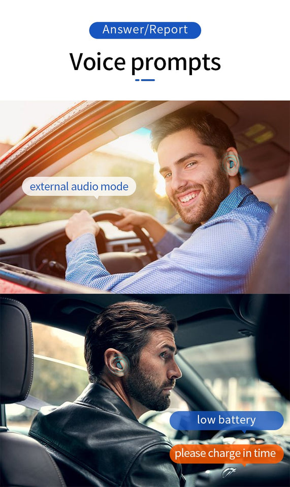 3D Stereo Mini Bluetooth Earbuds