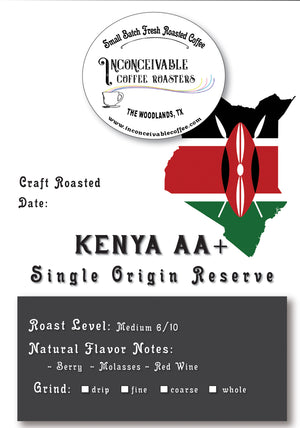 Load image into Gallery viewer, Kenya AA+, 4oz