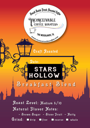 Stars Hollow Breakfast Blend, 4oz