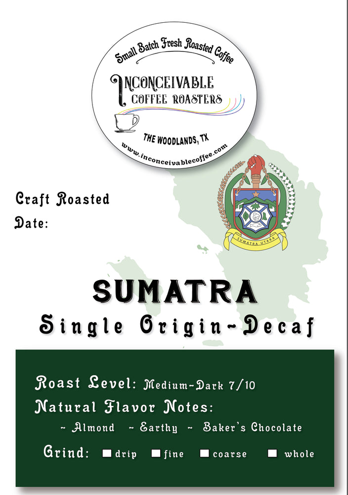 Sumatra Decaf - Single Origin Reserve