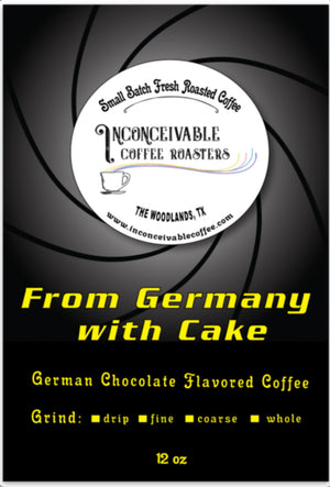 Flavored Originals: From Germany with Cake