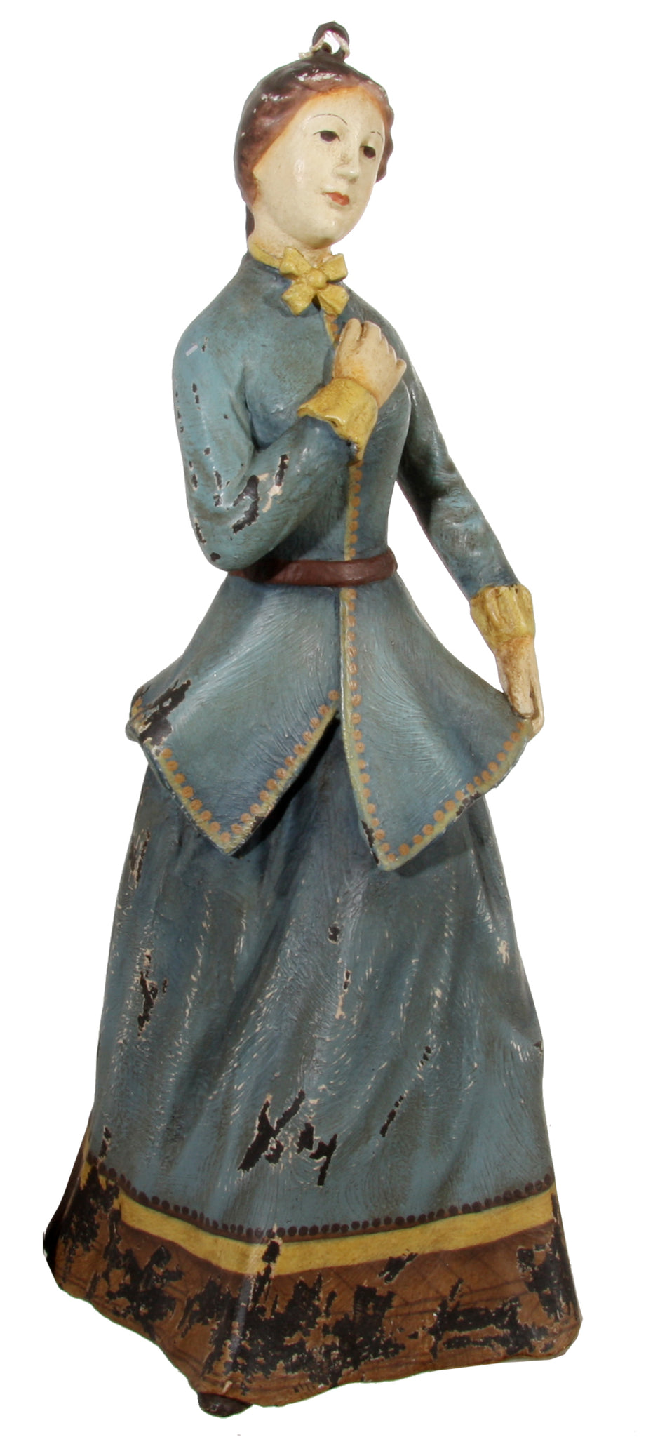 Blue Lady jule ornament