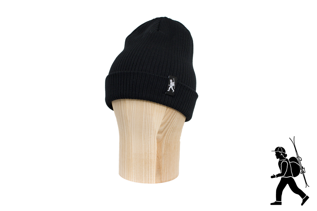 [Male Skier Beanie] - [48 FreeRiders] -  [Eco-Friendly] -  [Beanie] -  [Backcountry skiing] -  [Skiing] -