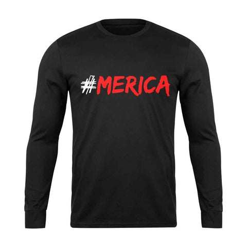 4th Of July America Long Sleeve T-Shirt - Nuu Shirtz