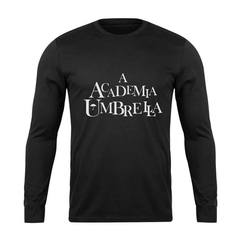 Academy Umbrella Long Sleeve T-Shirt - Nuu Shirtz
