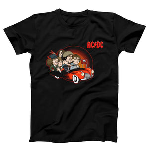Acdc 666 Hell Cartoon Men's T-Shirt - Nuu Shirtz