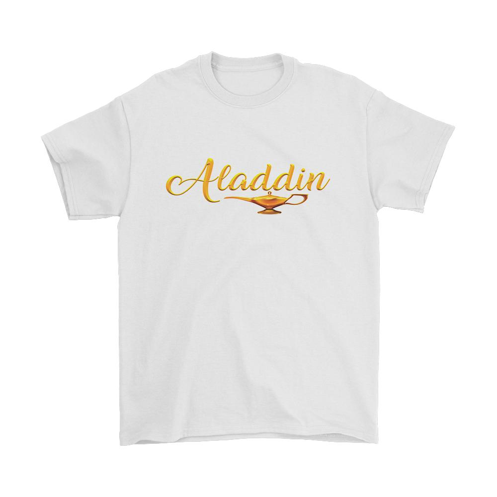 Aladdin Magic Lamp Logo Men's T-Shirt - Nuu Shirtz