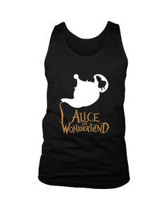Alice In Wonderland Men's Tank Top - Nuu Shirtz