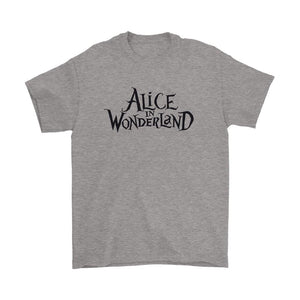Alice In Wonderland Logo Men's T-Shirt - Nuu Shirtz