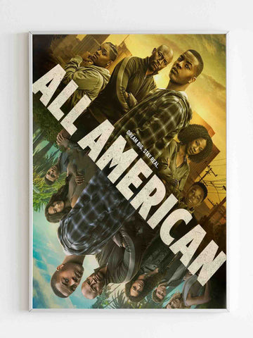 All American Season 2 Poster - Nuu Shirtz