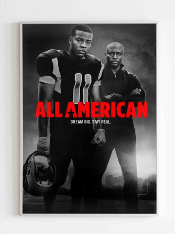 All American Season Ii Poster - Nuu Shirtz