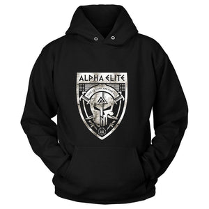 Alpha Elite Logo Fuck Around And Find Out Unisex Hoodie - Nuu Shirtz