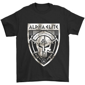 Alpha Elite Logo Fuck Around And Find Out Men's T-Shirt