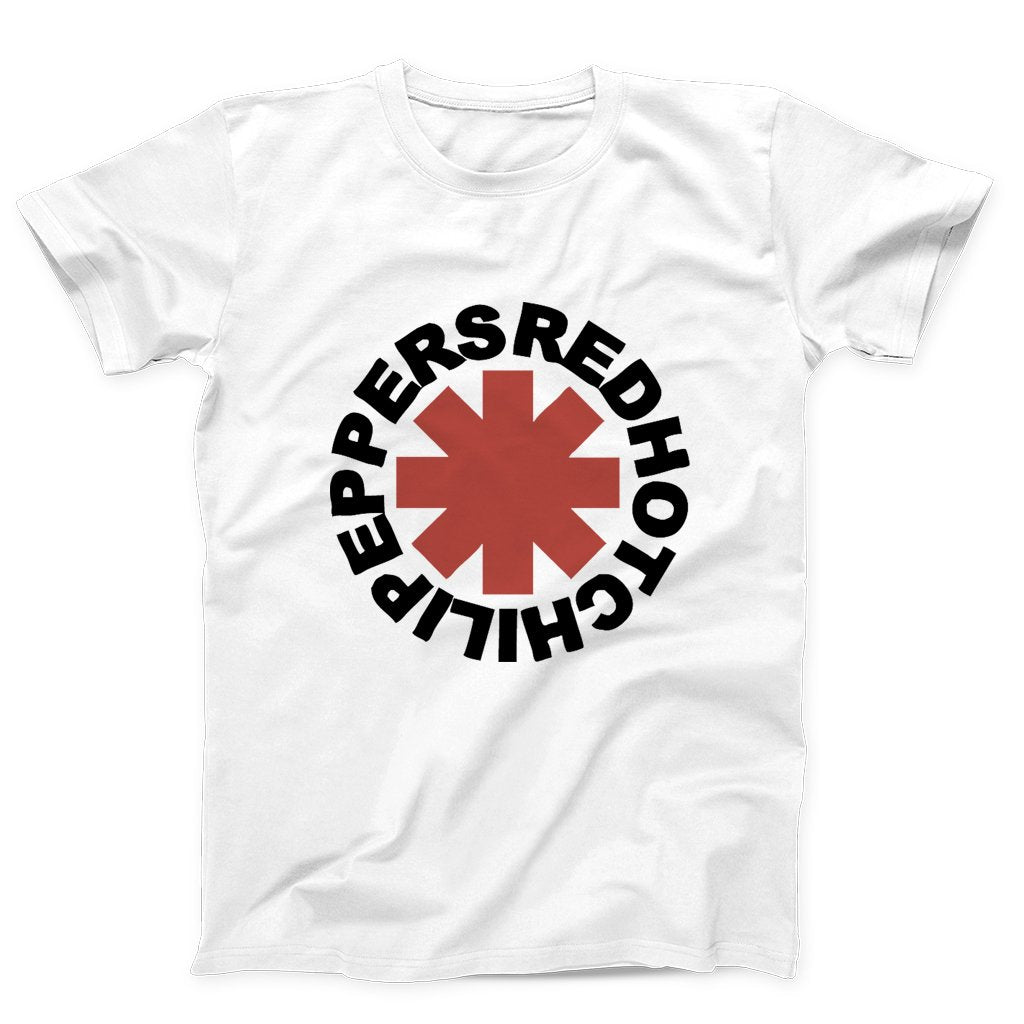 Alternative Rock Bands Rhcp Red Hot Chili Peppers Logo Men's T-Shirt - Nuu Shirtz