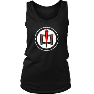 American Hero Logo Women's Tank Top - Nuu Shirtz