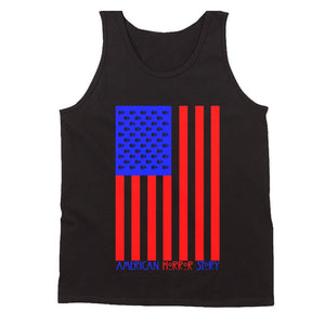 American Horror Story Usa Flag V2 Ahs 1984 Men'S Tank Top