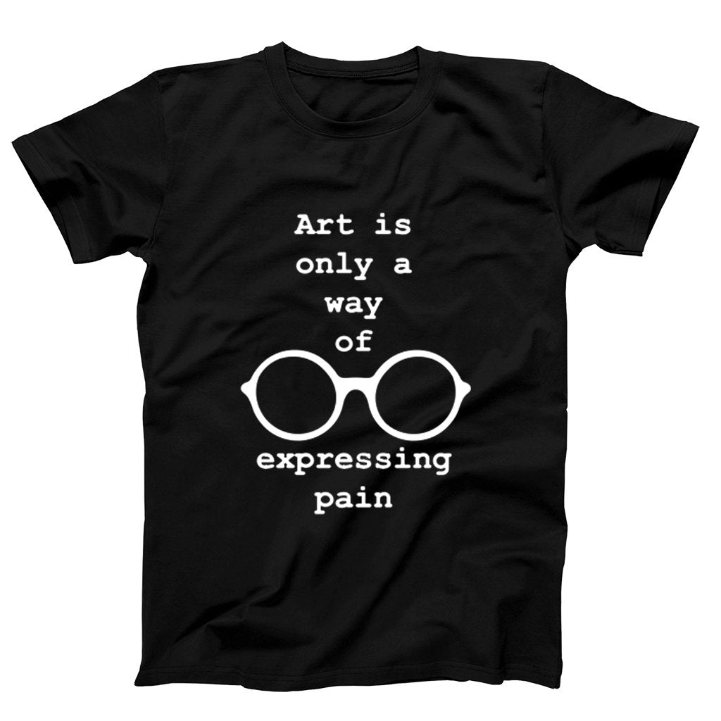 Art Is Only A Way Of Expressig Pain John Lennon Quotes Men's T-Shirt - Nuu Shirtz