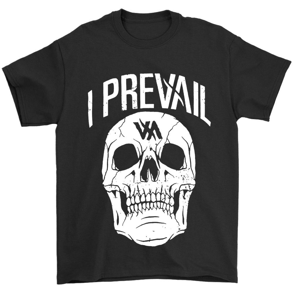 Authentic I Prevail Large Rowdy Skull Men's T-Shirt