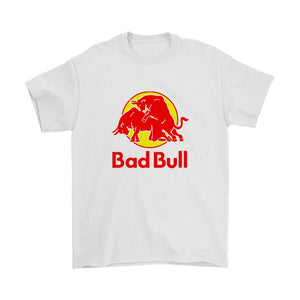 Bad Bull Funny Red Bull Parody Men's T-Shirt - Nuu Shirtz