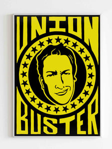 Barstool Sports Union Buster Poster