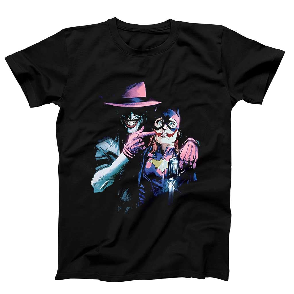 Batgirl Joker Comic Book Men'S T-Shirt