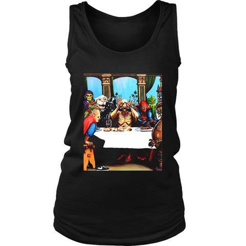 Batman And Darth Vader Invade Women'S Tank Top