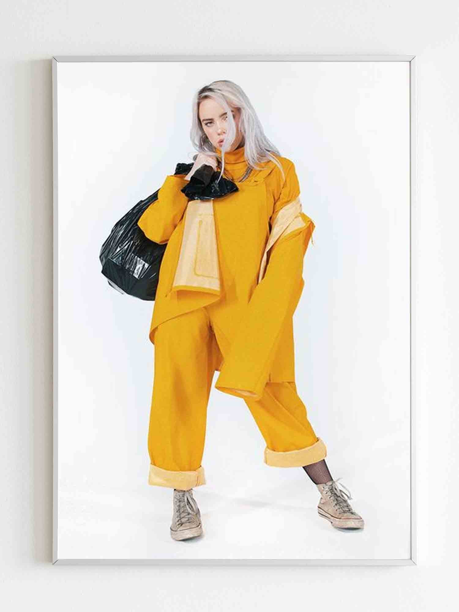 Billie Eilish Bellyache Poster - Nuu Shirtz