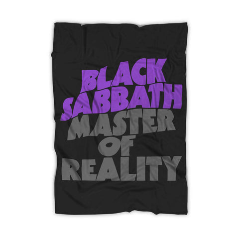 Black Sabbath Master Of Relity Blanket