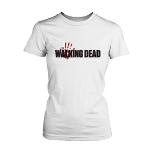 Blood The Walking Dead Women's T-Shirt