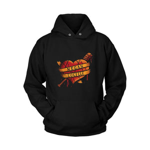 Bloody Love Walking Dead Negan Lucille Unisex Hoodie