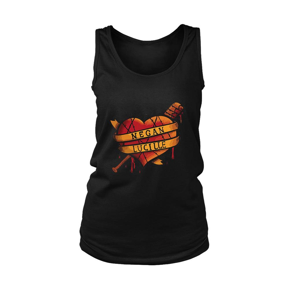 Bloody Love Walking Dead Negan Lucille Women's Tank Top