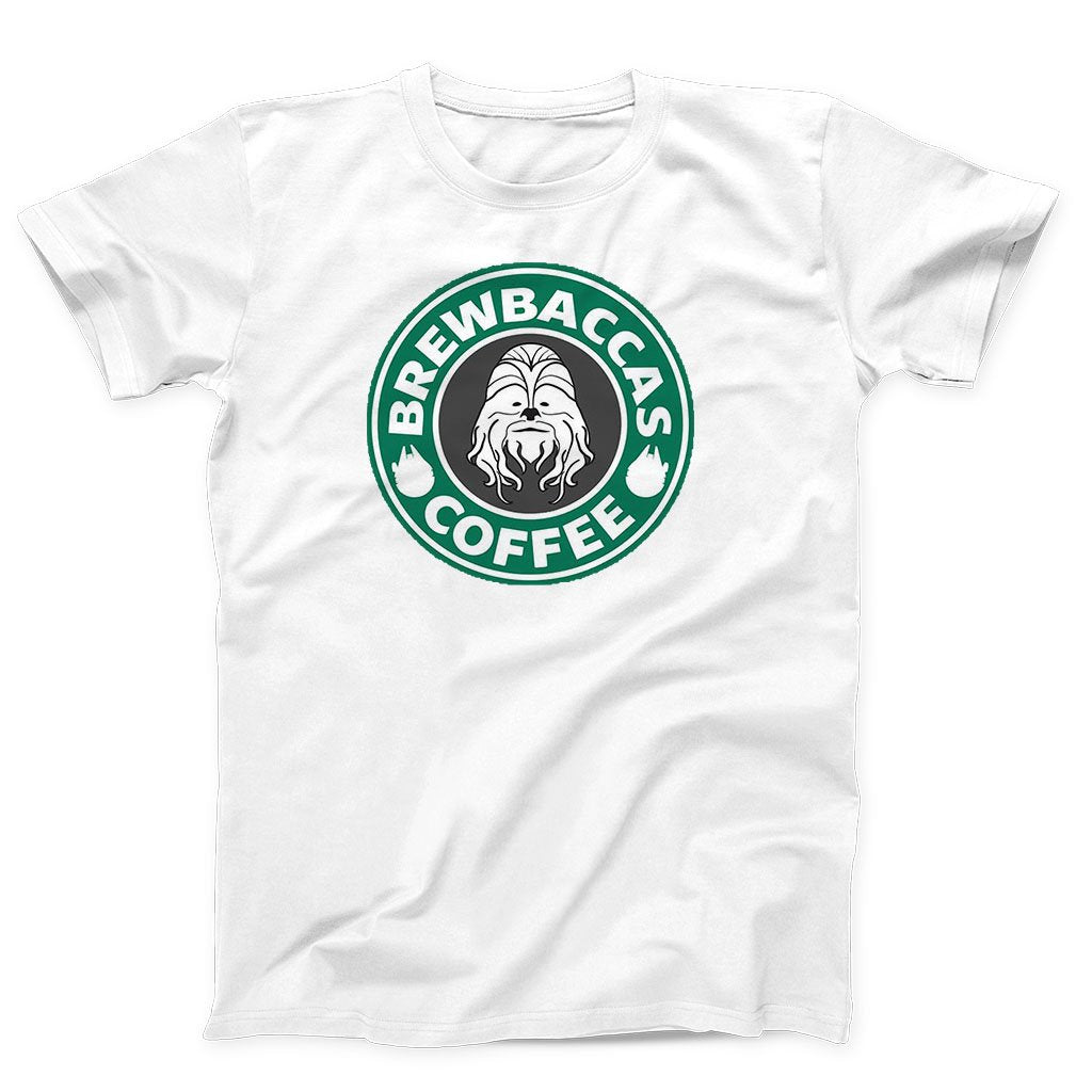 Brewbaccas Coffee Star Logo Chewbacca Star Wars Men's T-Shirt - Nuu Shirtz