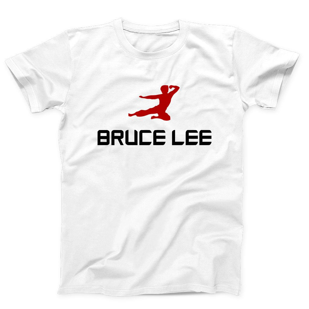 Bruce Lee Flying Kick Men's T-Shirt
