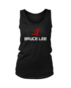 Bruce Lee Flying Kick Women's Tank Top - Nuu Shirtz