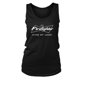 Budweiser Firefighter Women'S Tank Top