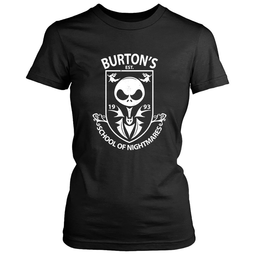 Burton School Of Nightmares Women's T-Shirt - Nuu Shirtz