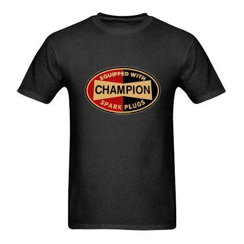 Champion Spark Plugs Men's T-Shirt - Nuu Shirtz