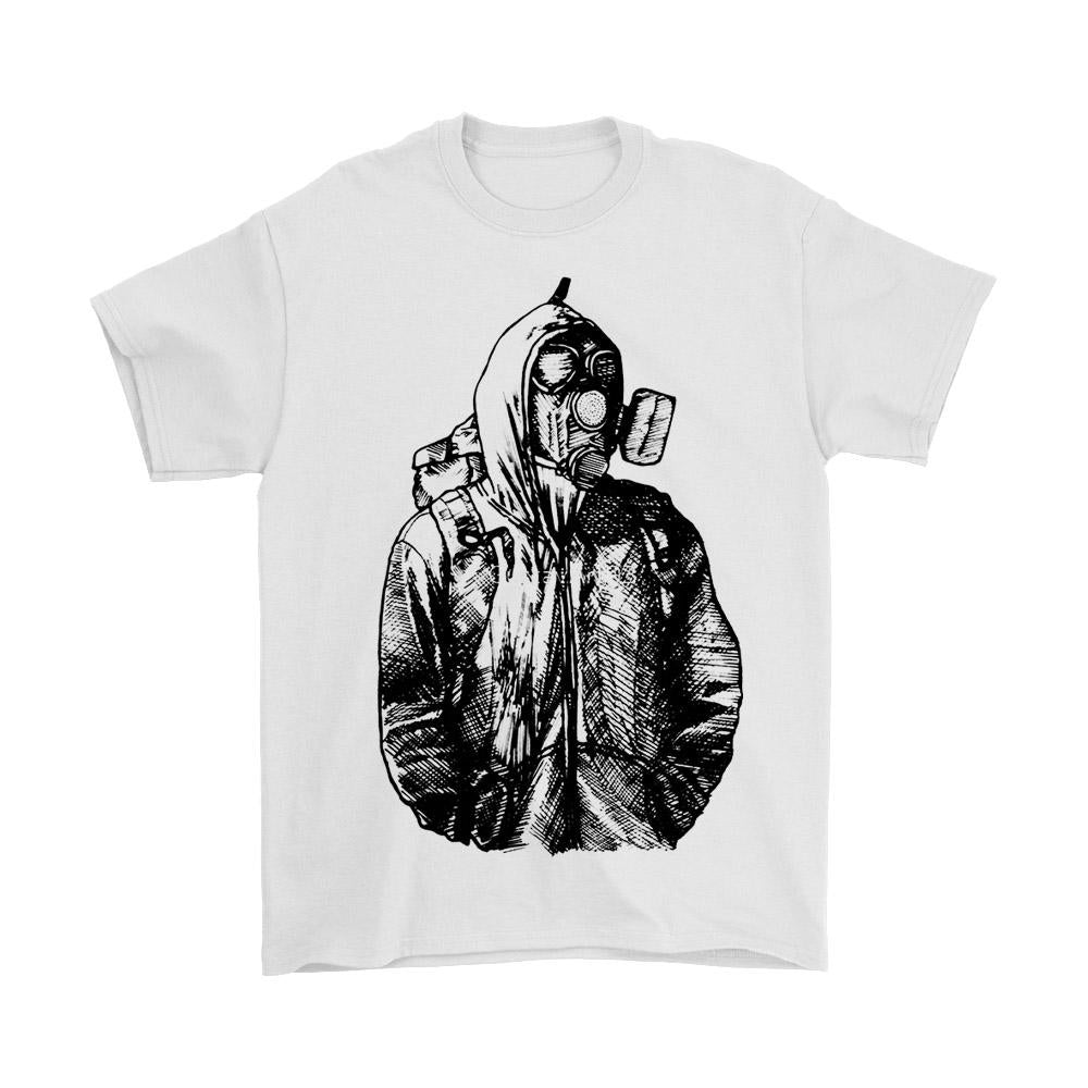 Chernobyl Sketch Men's T-Shirt - Nuu Shirtz
