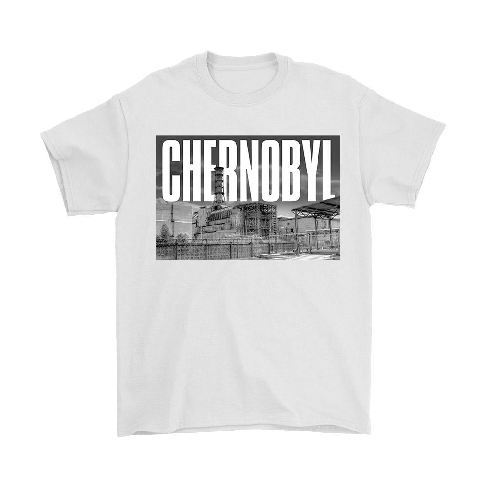Chernobyl View Men's T-Shirt - Nuu Shirtz