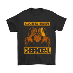 Chernobyl Wishing You Were Here Men's T-Shirt - Nuu Shirtz