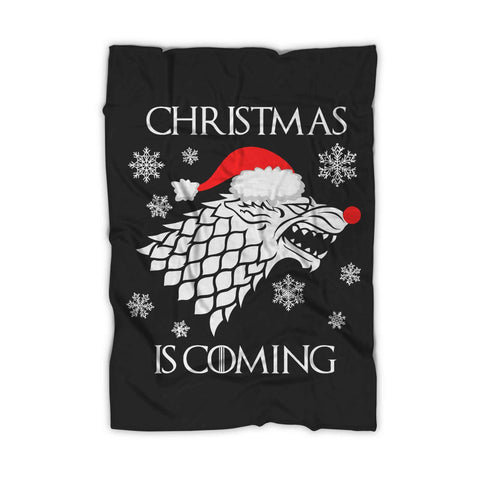 Christmas Is Coming Game Of Thrones Let It Snow Ugly Blanket - Nuu Shirtz